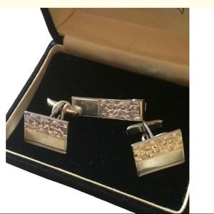 925 cuff links set